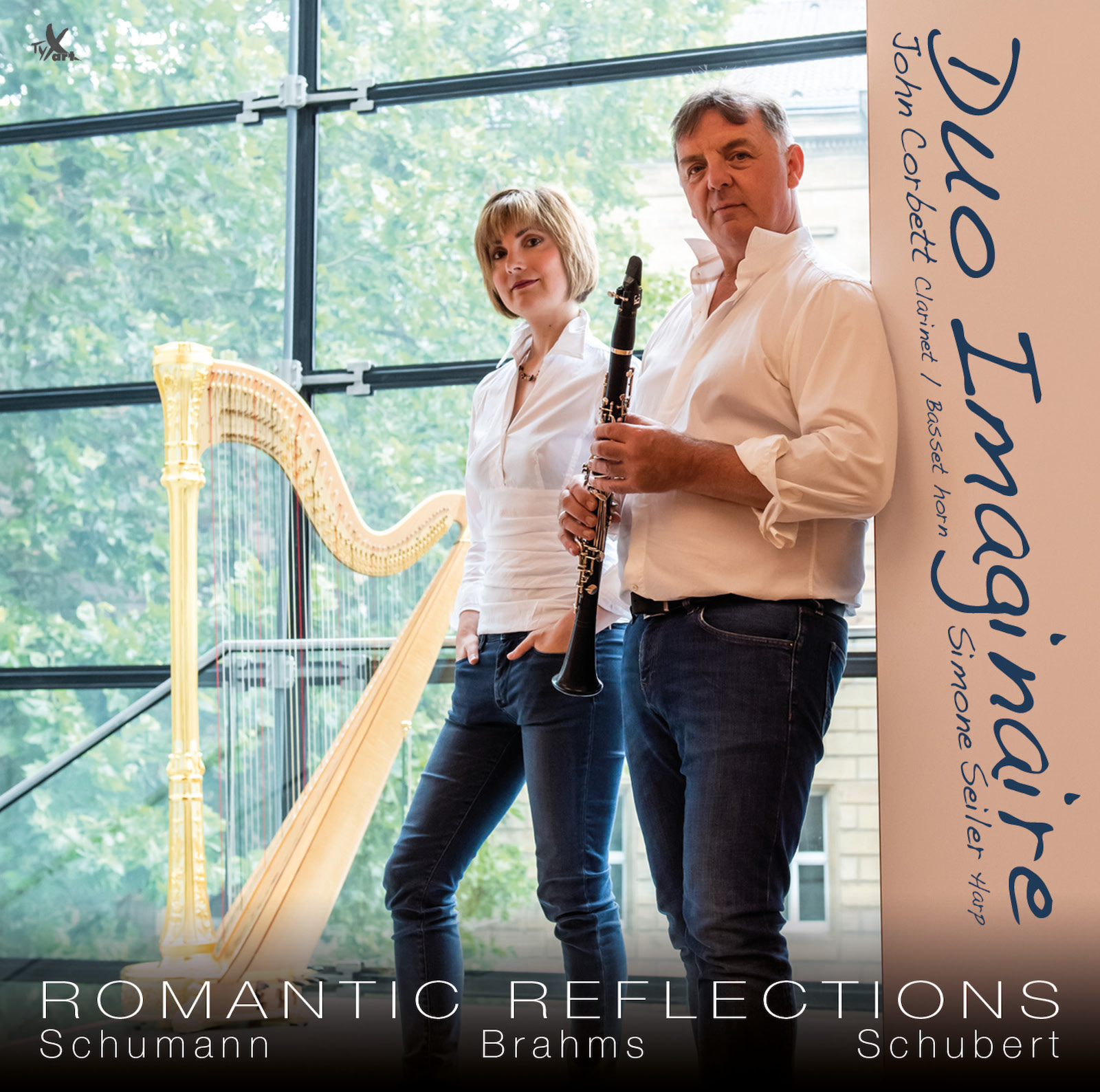 "CD-Cover ""Romantic Reflections"""